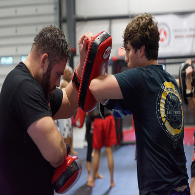 adult muay thai training