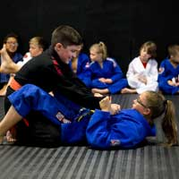 kids martial arts training